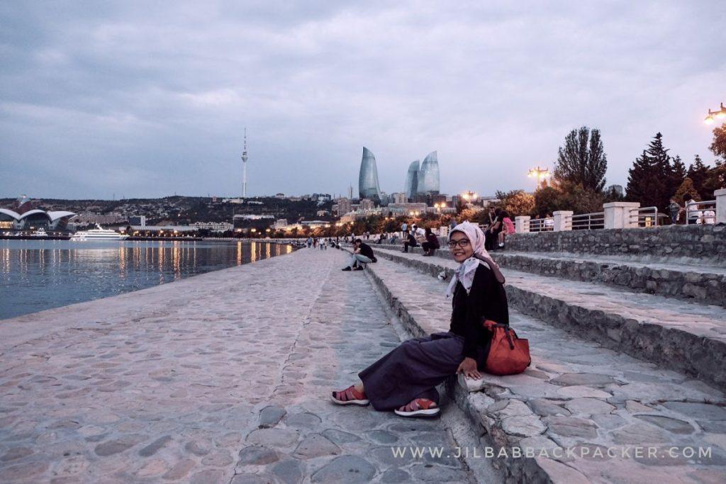 Baku Boulevard, lokasi syuting film Layla Majnun
