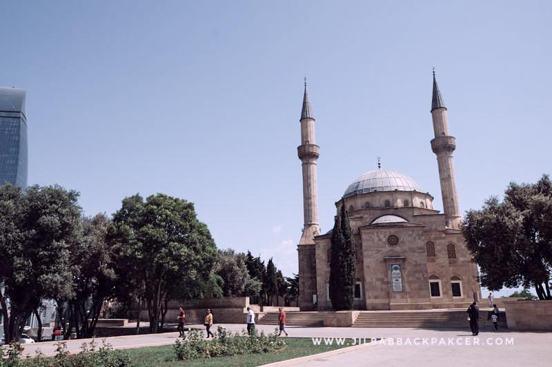 Masjid Turki, salah satu lokasi syuting film Layla Majnun