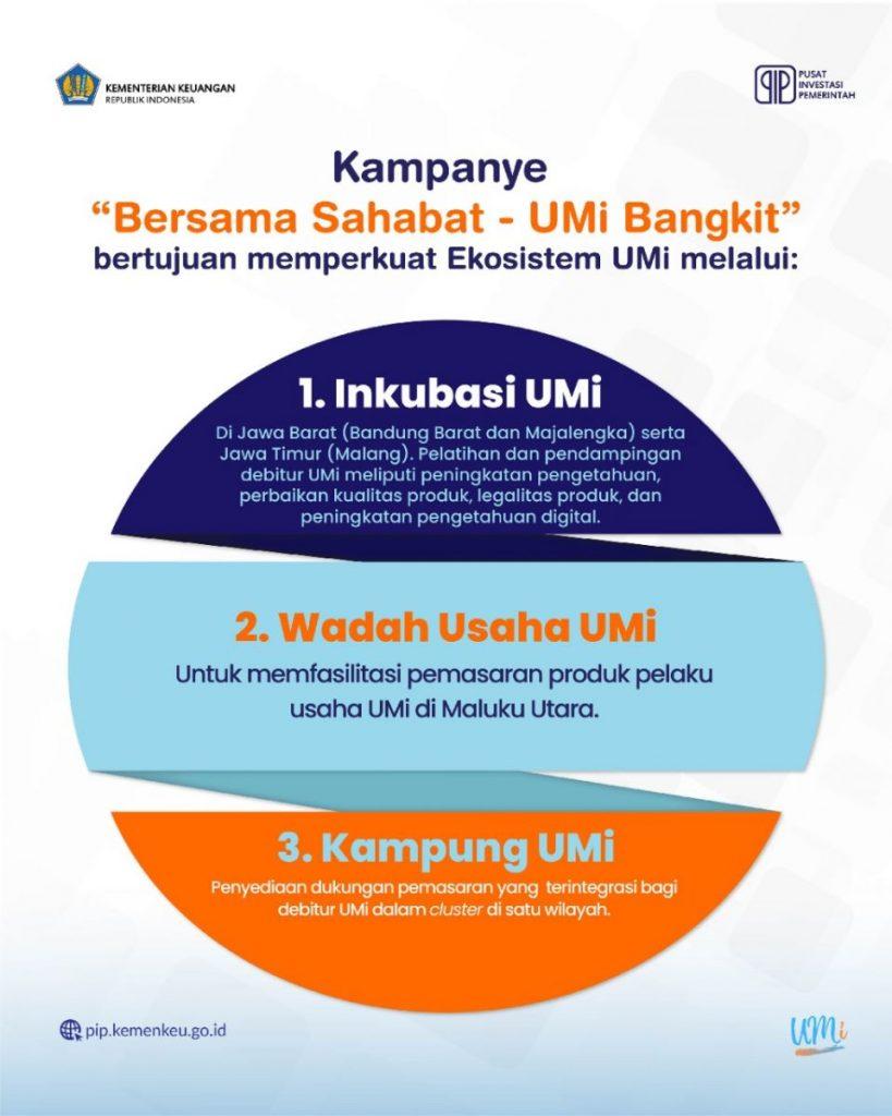 "kampanye ""Bersama Sahabat - UMi Bangkit""."